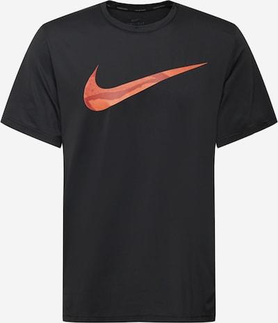 Tricou funcțional NIKE pe roșu orange / roşu închis / negru, Vizualizare produs