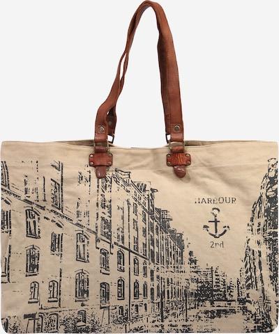 "Harbour 2nd ""Shopper"" tipa soma 'Goldbek', krāsa - karameļkrāsas / pelēcīgs / melns, Preces skats"