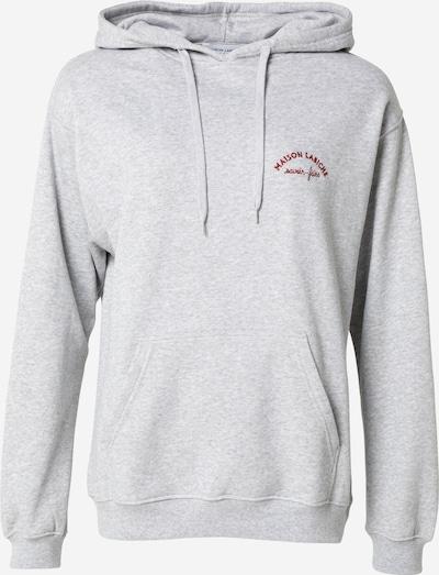 Maison Labiche Sportisks džemperis, krāsa - raibi pelēks / sarkans, Preces skats