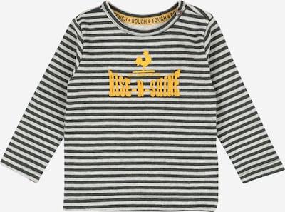 Noppies Shirt 'Ugie' in gelb / dunkelgrau / weiß, Produktansicht