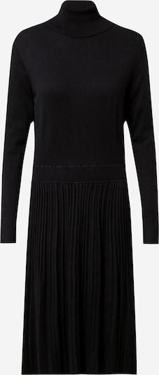 Calvin Klein Robes en maille 'Flare' en noir, Vue avec produit