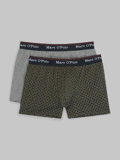 Marc O'Polo Sportondergoed ' Cyclist Shorts Multipack ' in de kleur Blauw / Grijs gemêleerd, Productweergave
