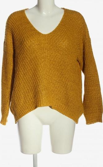 Pigalle V-Ausschnitt-Pullover in M in hellorange, Produktansicht