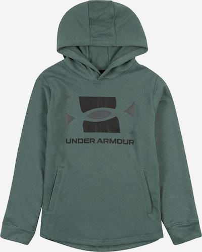 UNDER ARMOUR Sportief sweatshirt 'Rival' in de kleur Groen / Zwart, Productweergave