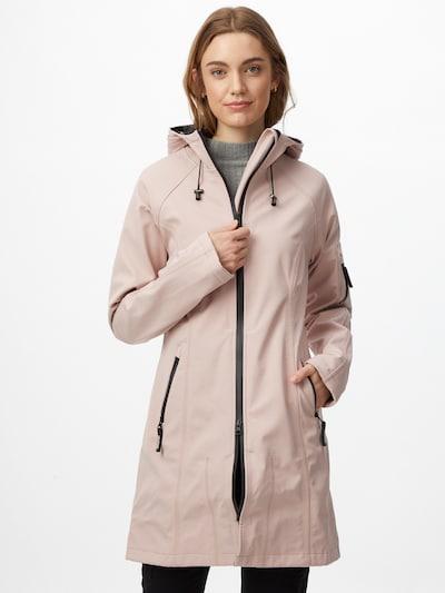 ILSE JACOBSEN Between-seasons coat in Dusky pink, View model