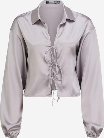 Missguided Tall - Blusa en gris