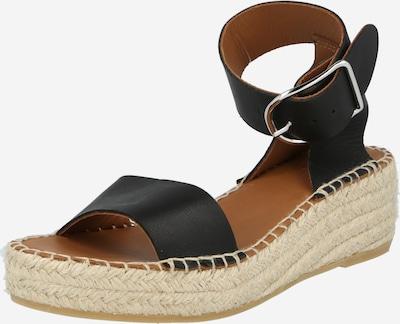Sandale cu baretă Billi Bi pe negru, Vizualizare produs
