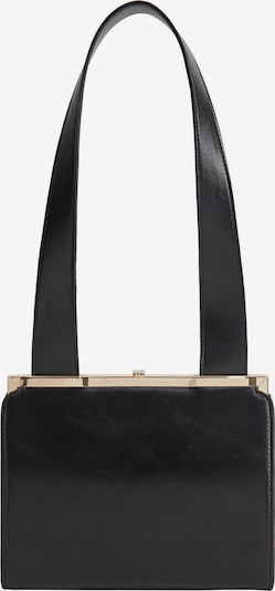 MANGO Handtas 'POLUX' in de kleur Goud / Zwart, Productweergave