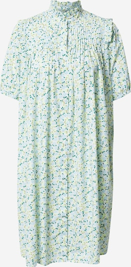 Rochie tip bluză 'Filo' Y.A.S pe albastru deschis / galben deschis / alb coajă de ou, Vizualizare produs