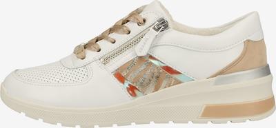 ARA Sneakers laag in de kleur Gemengde kleuren / Wit, Productweergave