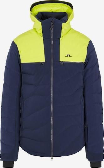 J.Lindeberg Winterjas in de kleur Blauw / Geel, Productweergave