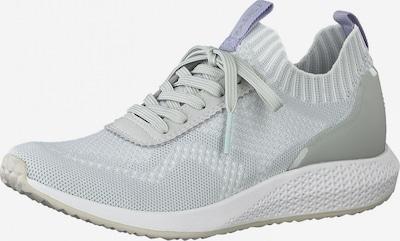 Tamaris Fashletics Sneakers laag in de kleur Grijs / Lichtgrijs, Productweergave