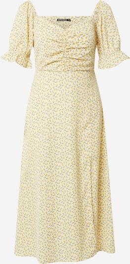 Rut & Circle Haljina 'CAMILLE' u žuta / pastelno žuta / kaki, Pregled proizvoda