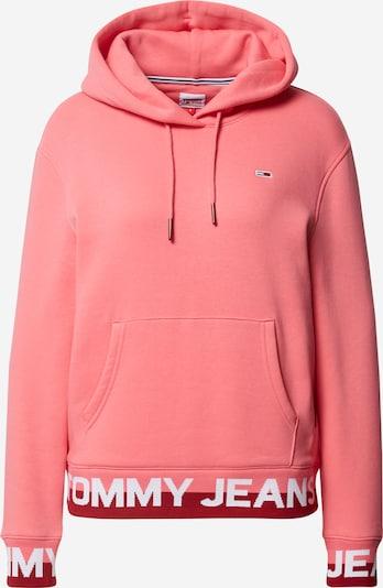 Megztinis be užsegimo iš Tommy Jeans , spalva - rožinė / raudona / balta, Prekių apžvalga