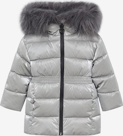 MANGO KIDS Płaszcz 'Alphab' w kolorze srebrnym, Podgląd produktu