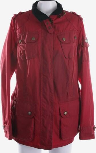 Barbour Übergangsjacke in XL in rot / schwarz, Produktansicht