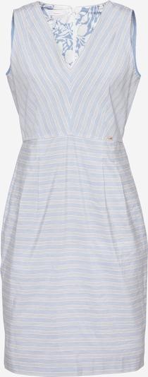 CINQUE Kleid 'CIEDA' in taubenblau / grau / weiß, Produktansicht