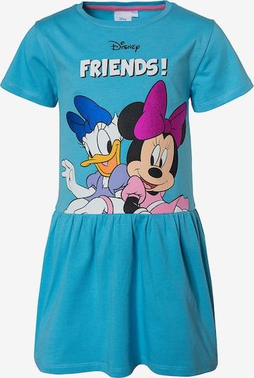Disney Minnie Mouse Kleid in himmelblau / mischfarben / pink / schwarz / weiß, Produktansicht
