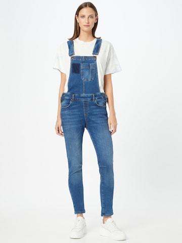 LTB Tuinbroek jeans 'Carmin' in Blauw