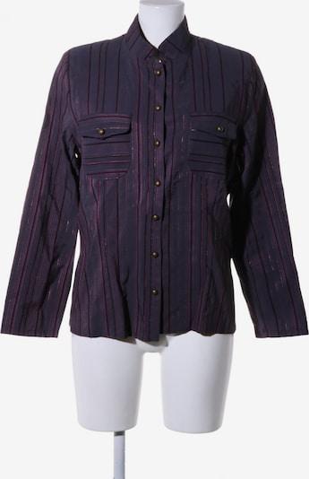 Chicc Langarmhemd in L in lila / schwarz, Produktansicht