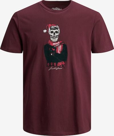 JACK & JONES Shirt in de kleur Gemengde kleuren / Kersrood: Vooraanzicht