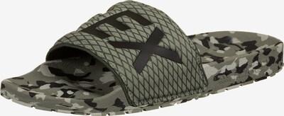 adidas Terrex Badeschuh 'Terrex Adilette' in grün / schwarz, Produktansicht