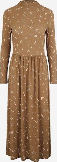 PIECES Kleid in braun / weiß, Produktansicht
