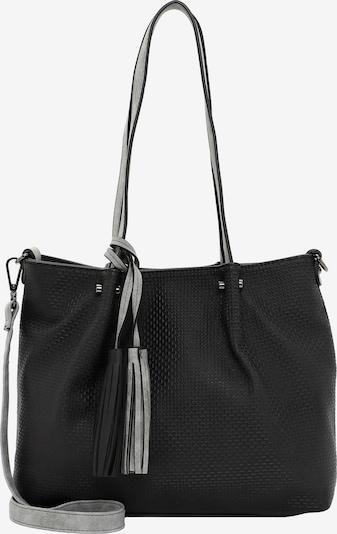 Emily & Noah Shopper 'Surprise' in hellgrau / schwarz, Produktansicht
