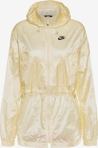 Nike Sportswear Between-Season Jacket in Yellow
