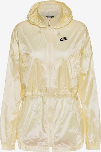 Nike Sportswear Jacke 'Windrunner' in gelb / schwarz, Produktansicht