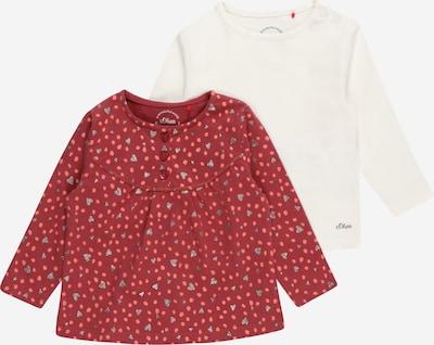 s.Oliver Shirt in pink / silber / weiß, Produktansicht