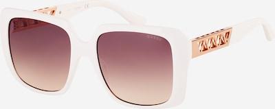 GUESS Sončna očala   rjava / bela barva, Prikaz izdelka