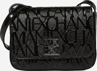 ARMANI EXCHANGE Bolso de hombro en negro / plata, Vista del producto