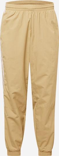 Sportinės kelnės iš ADIDAS ORIGINALS, spalva – smėlio spalva / balta, Prekių apžvalga