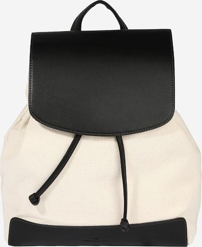 TOM TAILOR Rucksack 'Ines' in beige / schwarz, Produktansicht