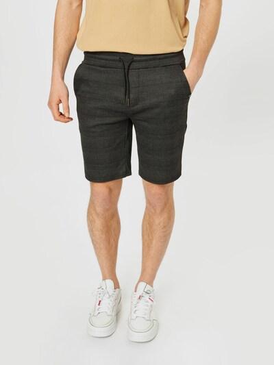 BLEND Nohavice - sivá / čierna, Model/-ka