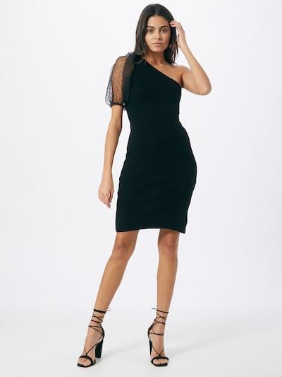 Missguided Kleid 'Organza' in schwarz, Modelansicht