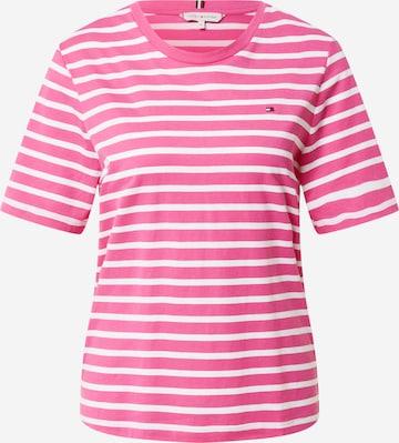 TOMMY HILFIGER Koszulka w kolorze różowy