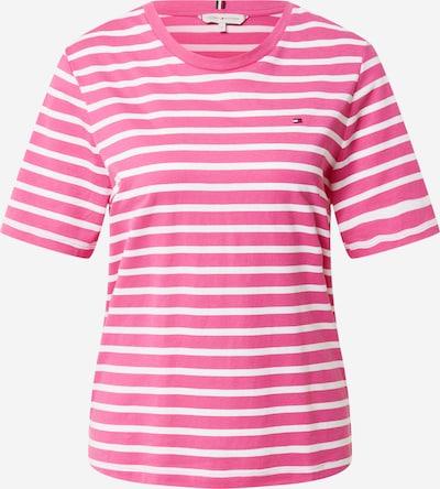 TOMMY HILFIGER Shirt in pink / weiß, Produktansicht