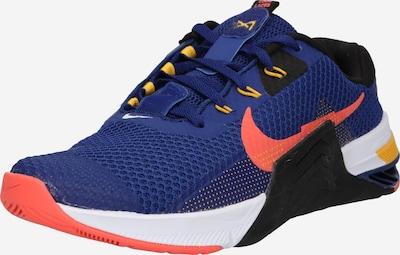 NIKE Športová obuv 'METCON 7' - kráľovská modrá / zlatá žltá / lososová / čierna, Produkt