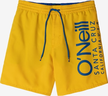 O'NEILL Swimming Trunks in Yellow