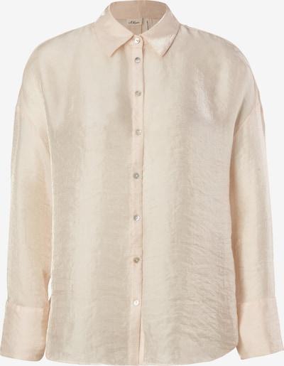 s.Oliver BLACK LABEL Bluse in beige, Produktansicht