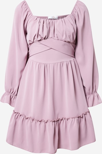 WAL G. Robe 'KNOEL' en violet, Vue avec produit