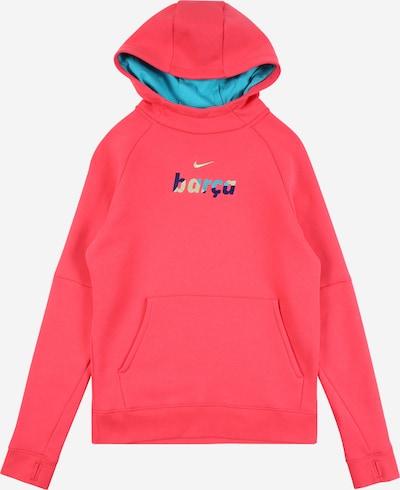 NIKE Sportsweatshirt 'FC Barcelona' in navy / aqua / pastellgelb / melone, Produktansicht