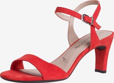 TAMARIS Sandalen met riem in de kleur Rood, Productweergave