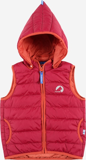 FINKID Bodywarmer 'VANULI' in de kleur Rood, Productweergave