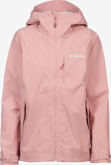 COLUMBIA Sportska jakna 'OMNI TECH™ AMPLI DRY™' u pastelno roza, Pregled proizvoda
