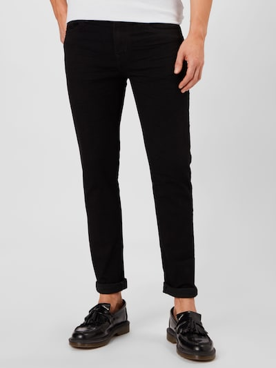 American Eagle Jeans in Black denim, View model