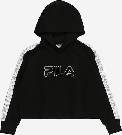 FILA Sudadera 'JULICA' en negro / blanco, Vista del producto