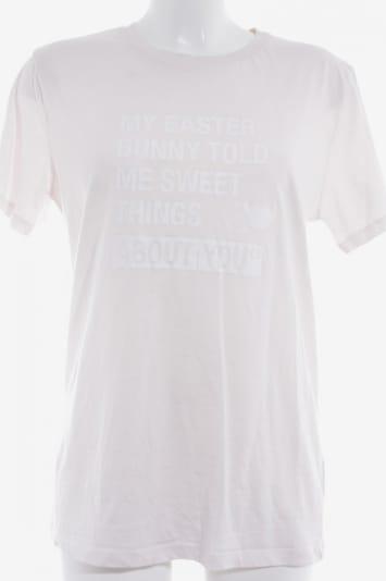 Stanley & Stella T-Shirt in M in rosé / weiß, Produktansicht